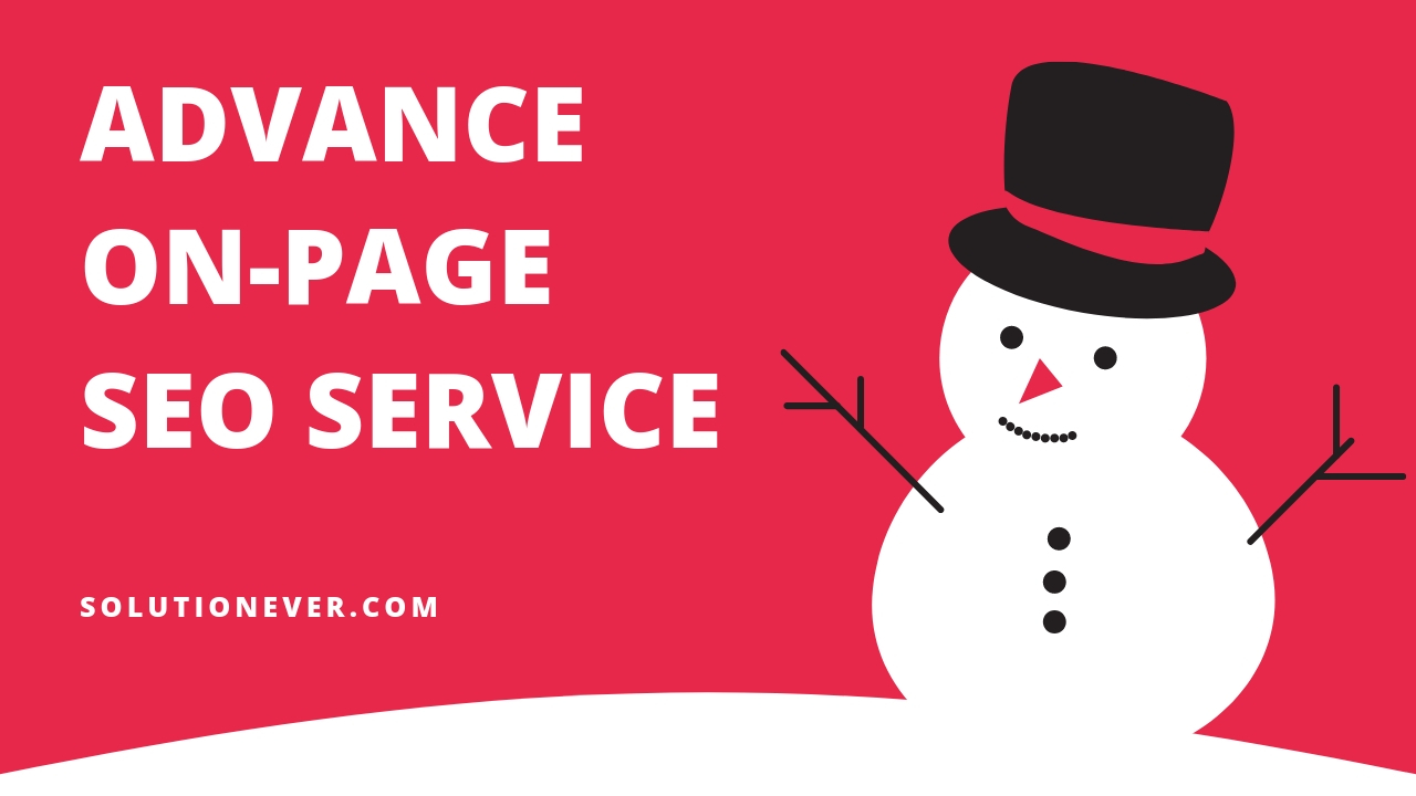 Advance On Page SEO by SOLUTIONEER
