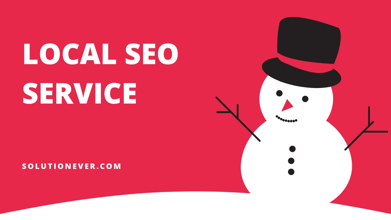 Local SEO service by SOLUTIONEVER