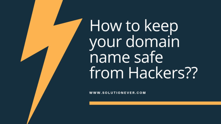 how to keep your domain name safe from hackers